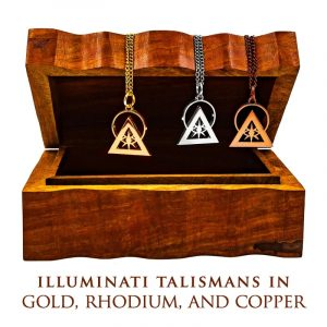 THE TRIFECTA: TALISMANS IN GOLD, RHODIUM, AND COPPER